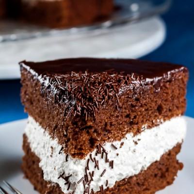 Chocolate Ganache Cake (SRC) for Chocolate Monday