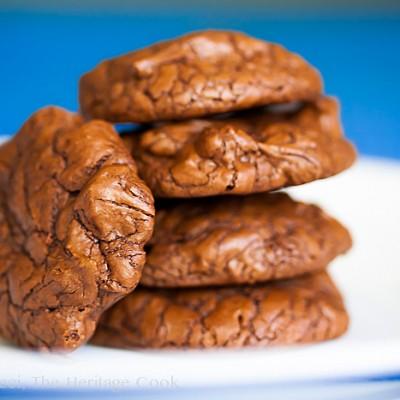 Chocolate Brownie Cookies (Gluten-Free)