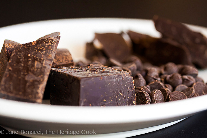 Chocolate Brownie Cookie Recipe; 2014 Jane Bonacci, The Heritage Cook