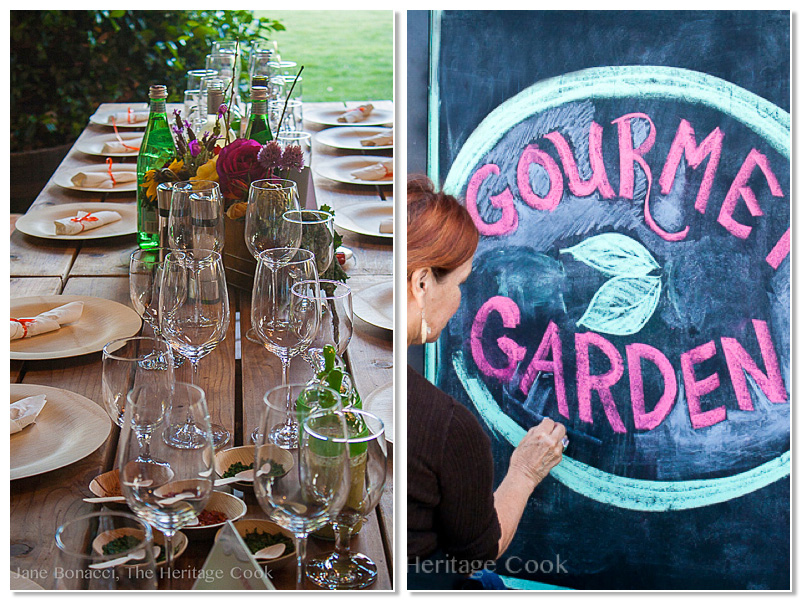 BTP Part 2, Potluck, Gourmet Garden; Jane Bonacci, The Heritage Cook