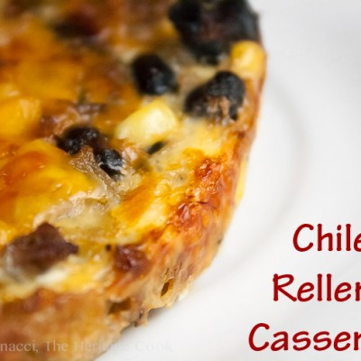 A Mexican Frittata – Chile Relleno Casserole