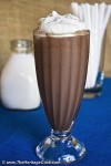 Ultimate Chocolate Milkshakes; 2012 Jane Bonacci, The Heritage Cook