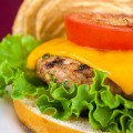 Grilled Turkey Burgers with Harissa Aioli; 2014 Jane Bonacci, The Heritage Cook