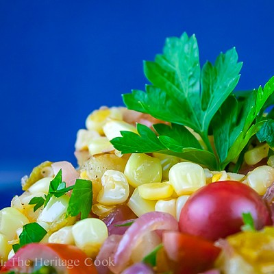 Mexican Elote Corn Casserole FN #SummerSoiree (Gluten-Free)