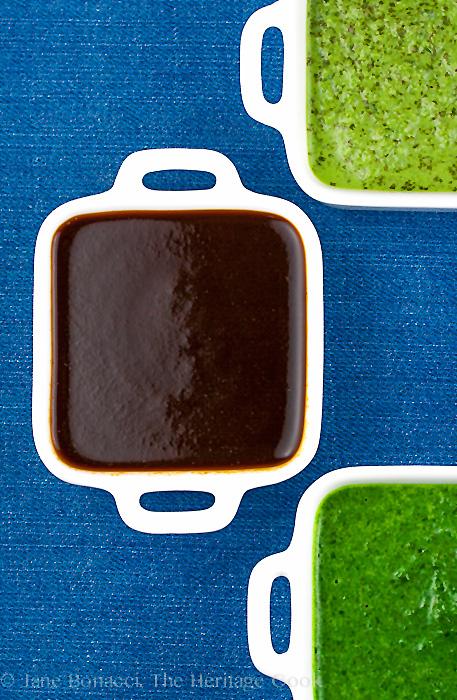4 Sauces for BBQ Foods; 2014 Jane Bonacci, The Heritage Cook