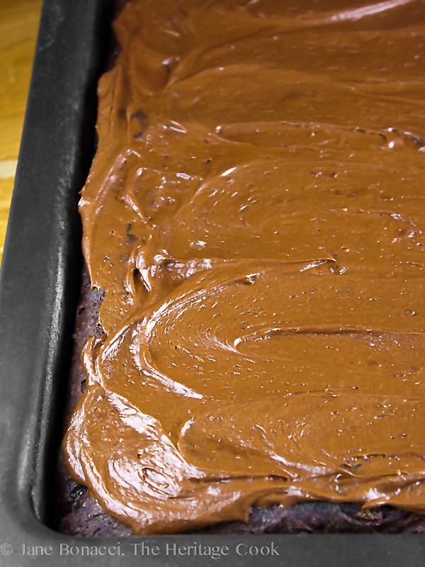 Blackout Cake; 2014 Jane Bonacci, The Heritage Cook.