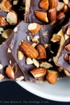 Homemade English Toffee with Salted Almonds; © 2014 Jane Bonacci, The Heritage Cook