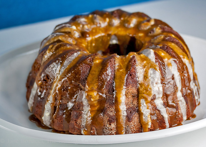 German Chocolate Bundt Cake; 2014 Jane Bonacci, The Heritage Cook