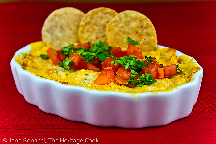 Hot Cheesy Artichoke & Chile Dip Recipe (Gluten-Free)