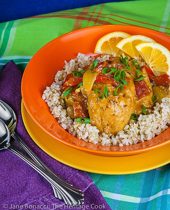 Brazilian Chicken Stew with Coconut, Lemongrass and Cilantro (Gluten ...