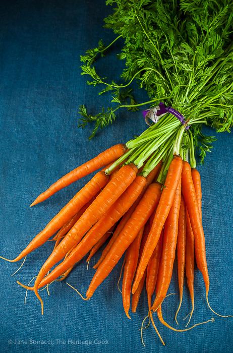 Harvest Maple Carrots & Apples; 2014 Jane Bonacci, The Heritage Cook