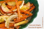 Harvest Maple Carrots & Apples; 2014 Jane Bonacci, The Heritage Cook