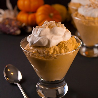 Pumpkin Pie without the Crust Recipe (Gluten-Free)