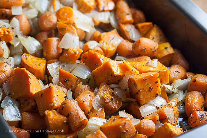 Roasted Carrot-Sweet Potato Soup (Gluten-Free) #FallFestThe