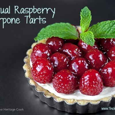 Individual Raspberry Mascarpone Tarts (Gluten-Free)