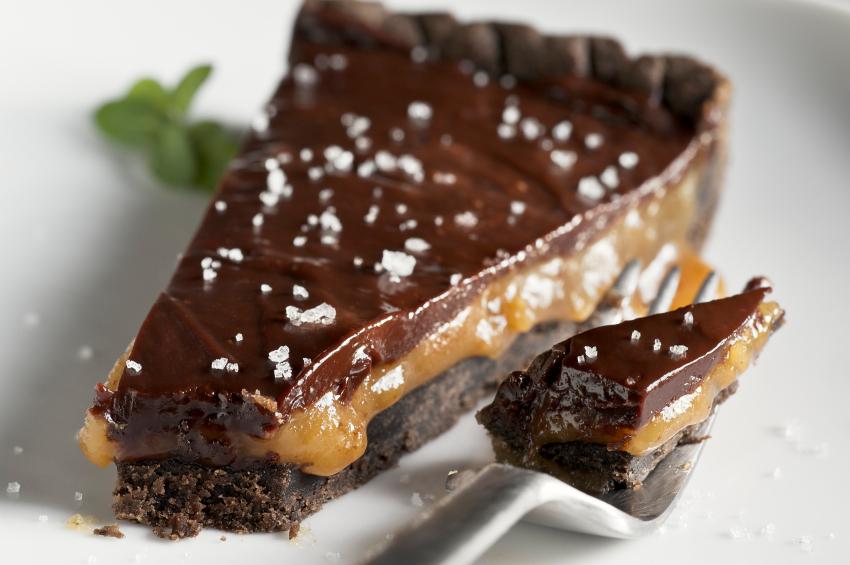 Chocolate Caramel Tart - Top Chocolate Monday Recipes of 2014 on The ...