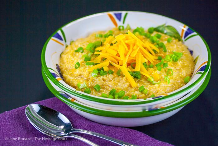 Cheesy goodness in every bite - gluten free creamy cheesy risotto