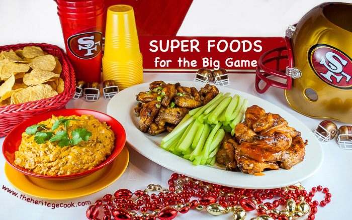 4 Super Appetizers for Game Day; 2015 Jane Bonacci, The Heritage Cook