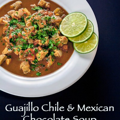 Guajillo Chile and Mexican Chocolate Soup (Gluten-Free)