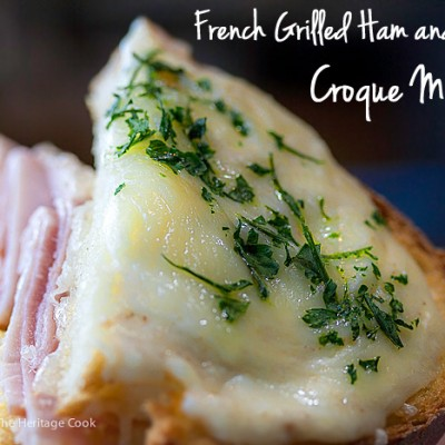 Gluten Free Croque Monsieur Sandwiches