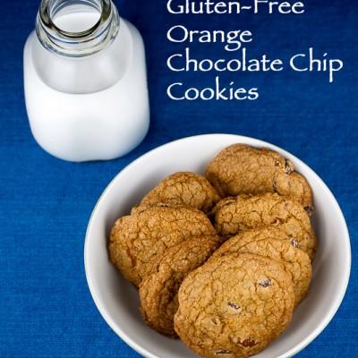 Gluten-Free Orange Chocolate Chip Cookies