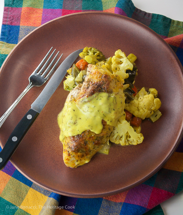 New & Improved Chicken Divan; 2015 Jane Bonacci, The Heritage Cook