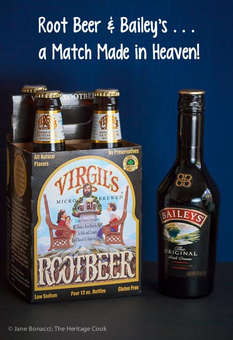 Root beer & Bailey's, a match made in heaven! Leprechaun Root Beer Float Chocolate Bundt Cake; 2015 Jane Bonacci, The Heritage Cook