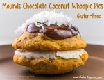 Mounds Coconut and Chocolate Whoopie Pies; 2015 Jane Bonacci, The Heritage Cook