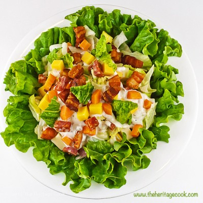 Chopped Steakhouse-Style Salad (Gluten-Free)