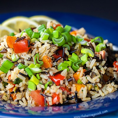 White and Wild Rice Pilaf #SensationalSides