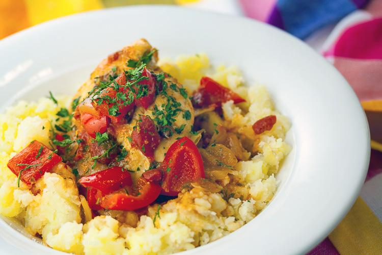 The Comfort of Chicken Cacciatore; 2015 Jane Bonacci, The Heritage Cook