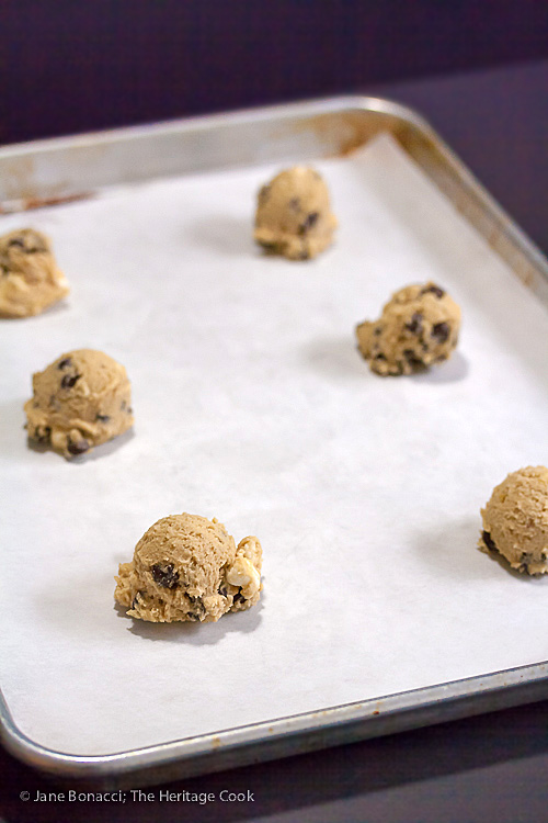 S'Mores Chocolate Chip Cookies (SRC) Gluten-Free option; 2015 Jane Bonacci, The Heritage Cook