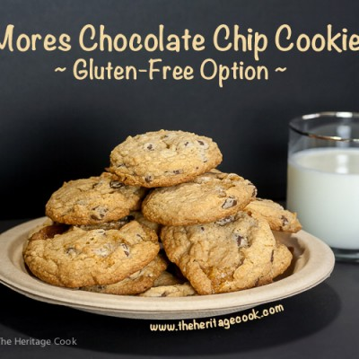 S'Mores Chocolate Chip Cookies – SRC (Gluten-Free option)