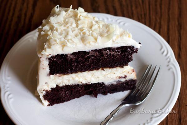 Chocolate Cheesecake Cake from Barbara-Bakes.