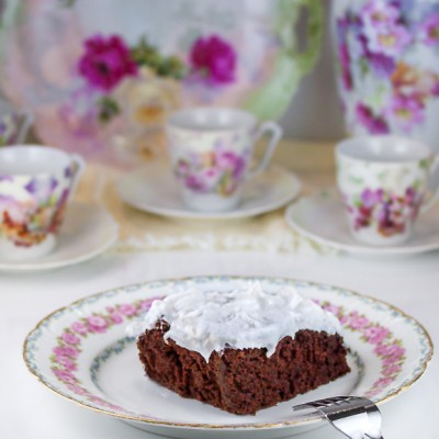 Mississippi Mud Cake (Gluten-Free Option)