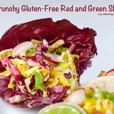 Crunchy Gluten-Free Red and Green Slaw