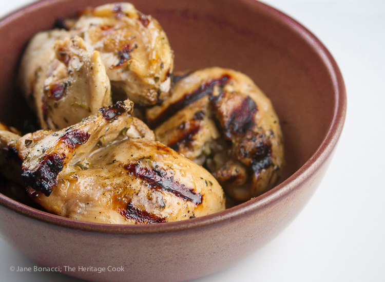 World's Easiest BBQ Chicken; 2015 Jane Bonacci, The Heritage Cook