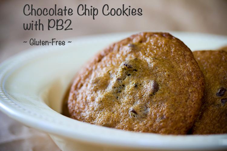 Powdered peanut butter is the secret ingredient in these addicting Powdered Peanut Butter Chocolate Chip Cookies SRC; 2015 Jane Bonacci, The Heritage Cook