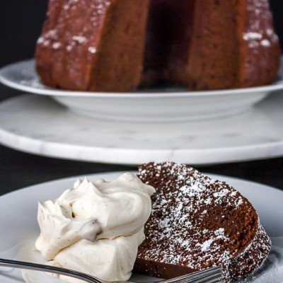 Chocolate Surprise Bundt Cake (Gluten-Free option)