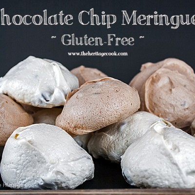 Chocolate and Vanilla Meringues with a Surprise (Gluten-Free)