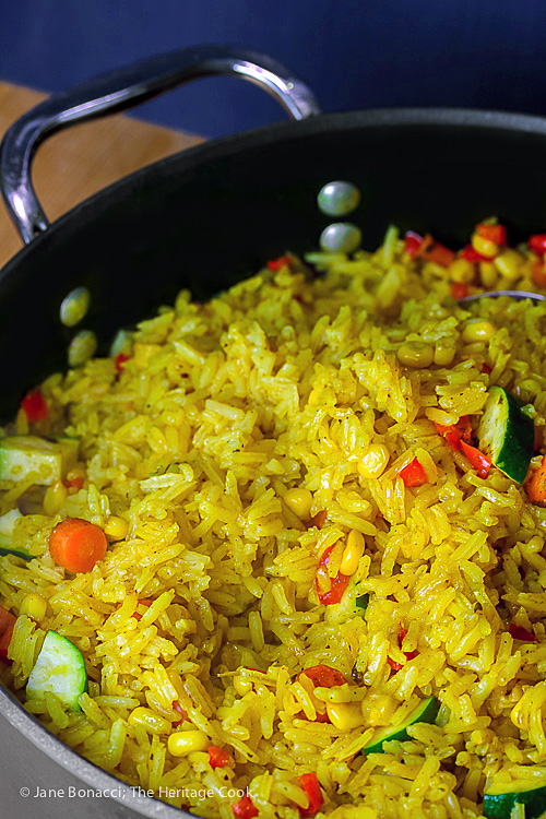 ... yellow rice pilaf $ 39 95 a full tray of seasoned yellow rice pilaf