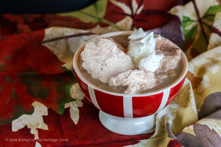 Peppermint Hot Cocoa with Fresh Whipped Cream; 2015 Jane Bonacci The ...
