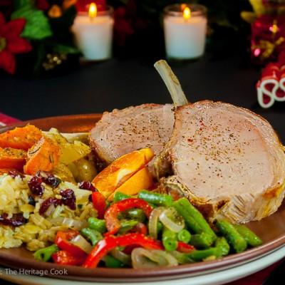 Showstopper Grilled Crown Pork Roast
