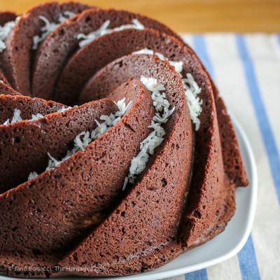 Almond Joy Bundt Cake – Gluten-Free (SRC)