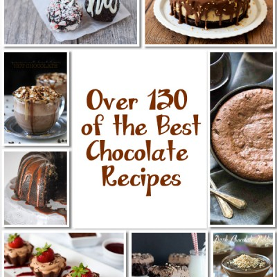 Over 130 of the Best Chocolate Recipes to Kick Off 2016 – Part 1