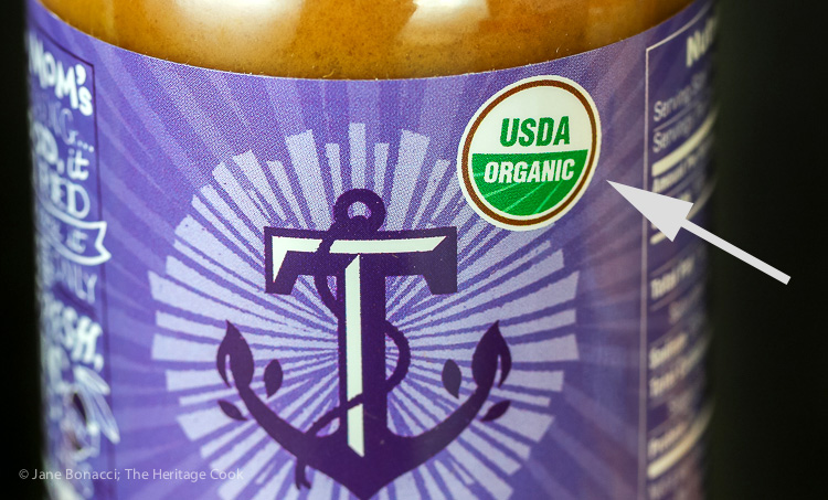 Tessemae Organic Certification; Tessemae Dressings and Marinades Organics; © 2016 Jane Bonacci, The Heritage Cook