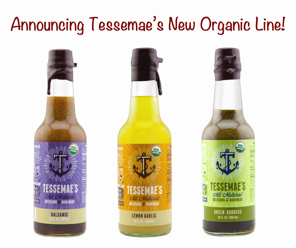 Tessemae Dressings and Marinades Organics; © 2016 Jane Bonacci, The Heritage Cook