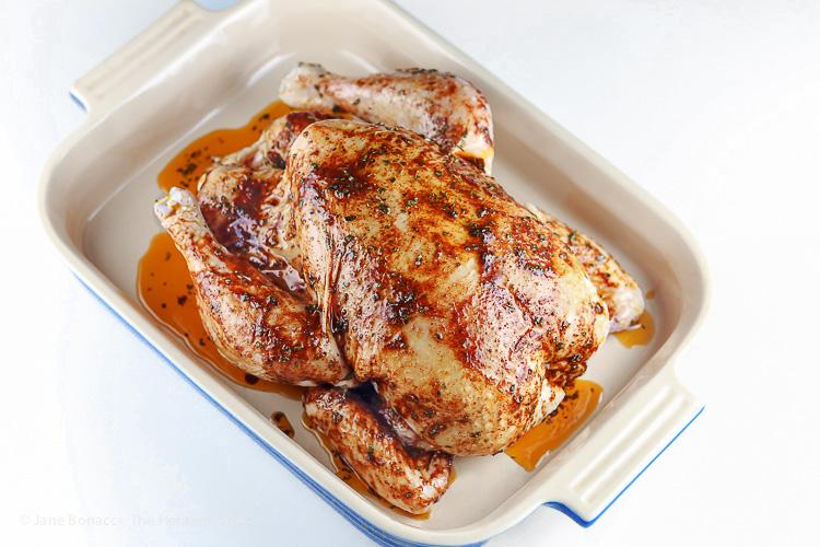 Marinated Peruvian Chicken; Pisco Brandy Roasted Peruvian Chicken, Gluten-Free © 2016 Jane Bonacci, The Heritage Cook