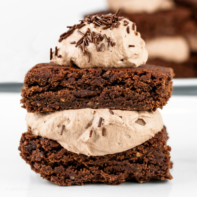Gluten-Free Brownie Sandwiches