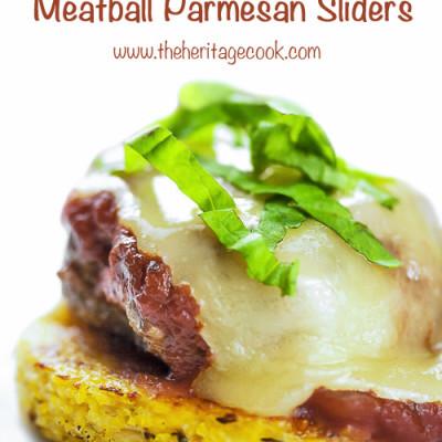 Gluten-Free Meatball Parmesan Sliders